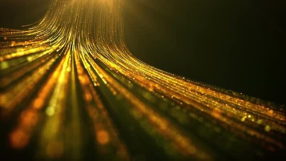 Gold Light Space Data