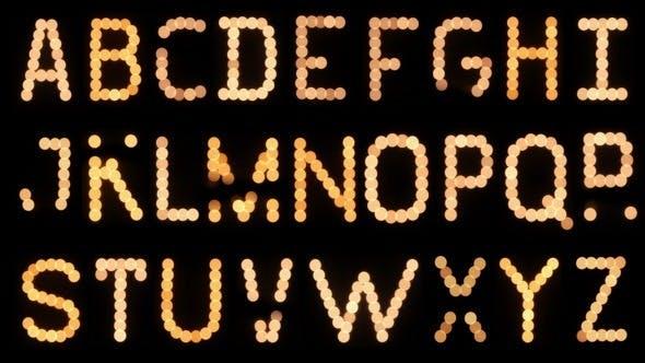 Thumbnail for Lightbulb Alphabet Flickering