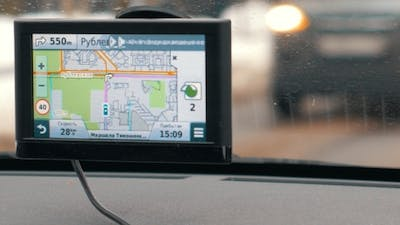 Traveling In Moscow With GPS Device