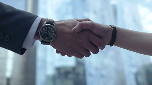 Thumbnail for Handshake In Slow Motion