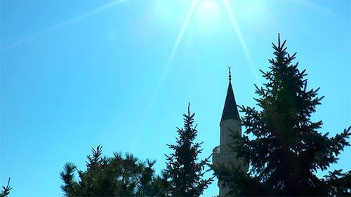 Minaret in the Sun