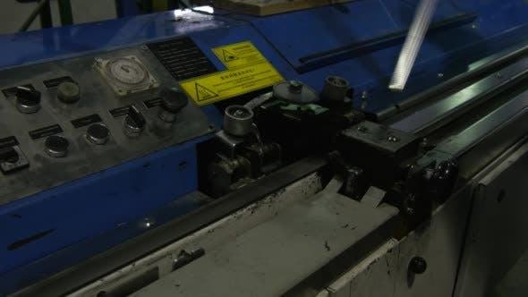 Thumbnail for Worker is Making Metal Frame, Metal Detail,