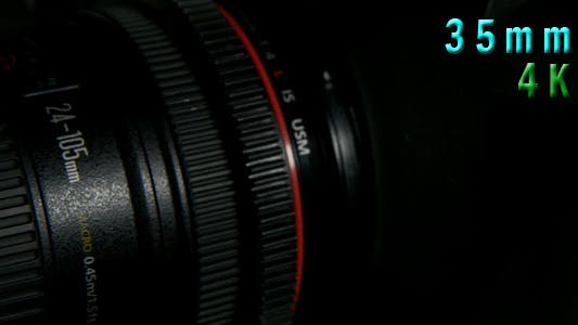 Thumbnail for Front To Back Professional Camcorder 08