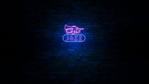 Jazz-Neonlicht-Zeichen