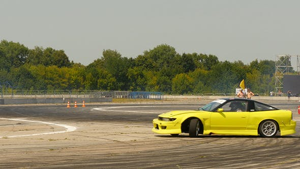 Cover Image for Drift Car In The Drift Championship