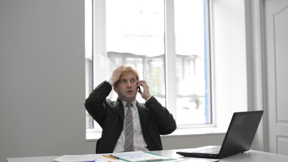 Business Crisis Phone Call Reaction