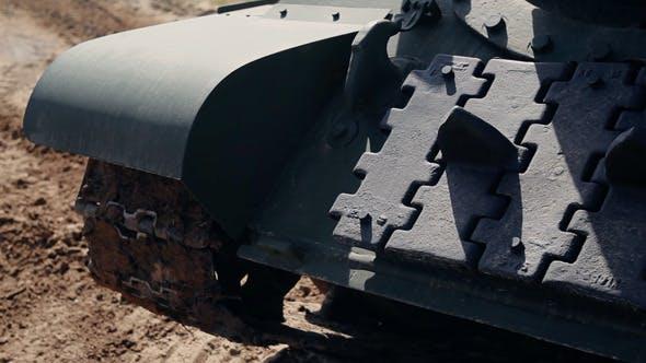Tank Russian Old Su-100