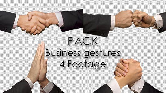 Thumbnail for Business Hand Gestures Pack