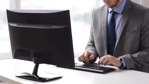 Thumbnail for Close Up Of Businessman Hands Typing On Keyboard 5