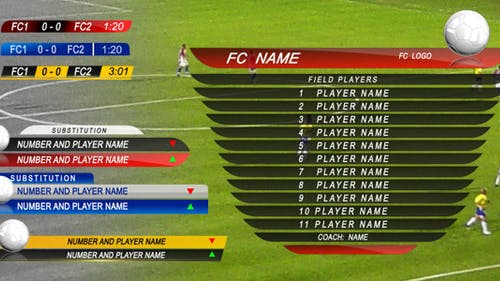 Soccer Graphic Package