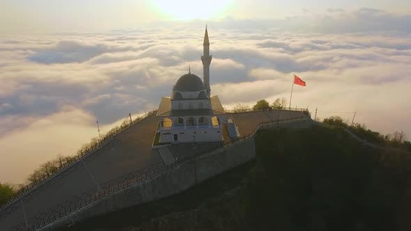 Mosque Built on Top of Mountain