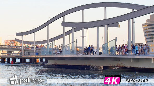 Thumbnail for Barcelona Port Bridge