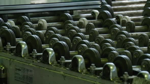 Thumbnail for Glass Sheets Are Put to The Machine