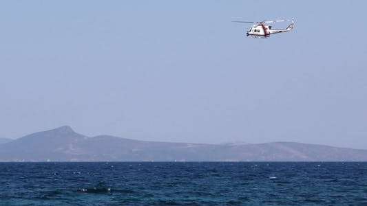 Thumbnail for Helicopter and Sea