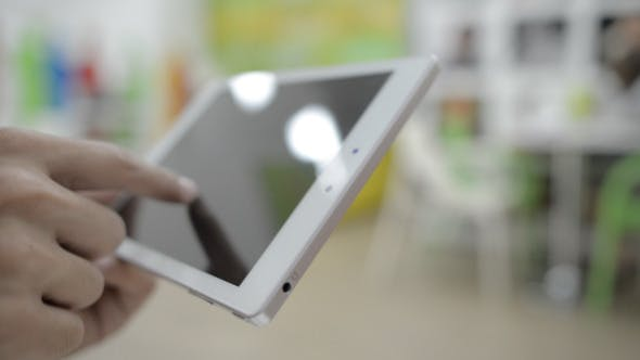 Thumbnail for Using Tablet in Office (2)