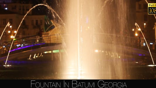 Thumbnail for Fountain In Batumi 3