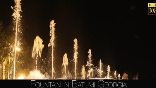 Fountain In Batumi 6