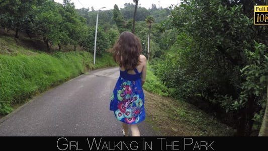 Thumbnail for Girl Walking In The Park 3