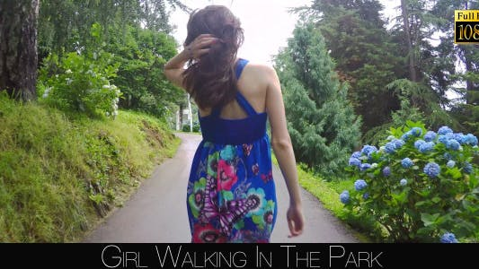 Cover Image for Girl Walking In The Park