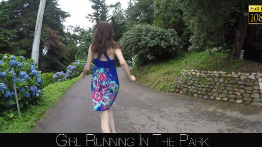 Thumbnail for Girl Running In The Park