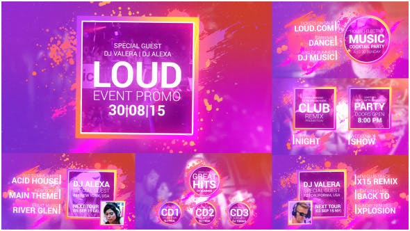 Thumbnail for Loud Event Promo
