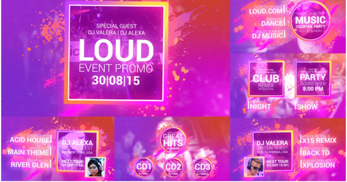 Download Loud Event Promo by nixstudioedition