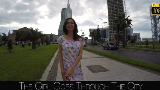 The Girl Goes Through The City
