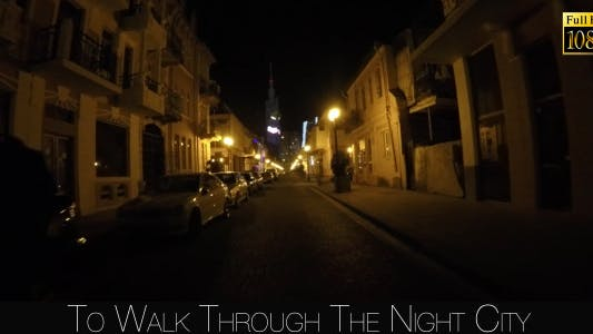 Thumbnail for To Walk Through The Night City