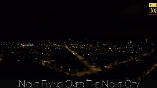 Thumbnail for Night Flying Over The Night City 4