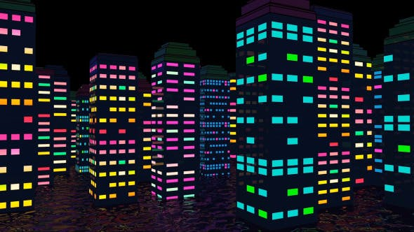 Thumbnail for Colorful City Night