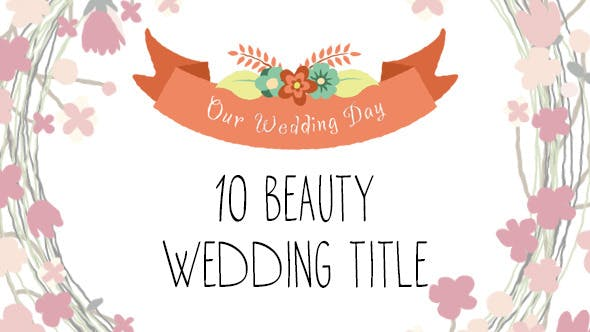 Thumbnail for 10 Beauty Wedding Titles
