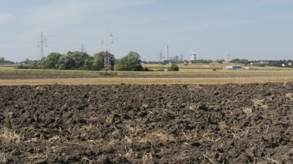 Cover Image for Soil Close Up Landscape Field Dry Straw