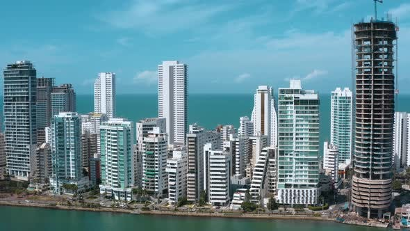 Thumbnail for Aerial Footage of Cartagena Bocagrande