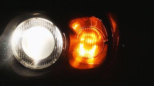 Car Headlight and Signal
