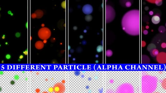 Thumbnail for Alpha Particle (5 Different animations)