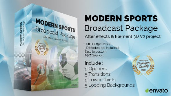 Thumbnail for Modern Sports Broadcast Package