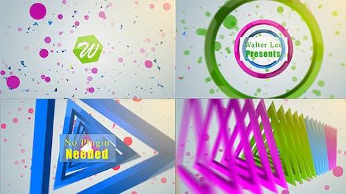 Shape Logo Reveal 5 In 1