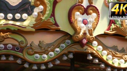 Carousel Cockhorse Spinning