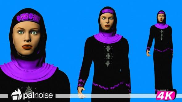 Thumbnail for Arabic Woman Walking
