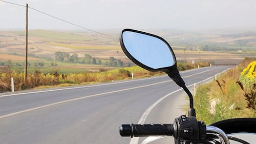 Road Trip With Motorcycle