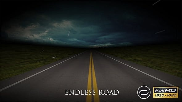 Endless Night Road