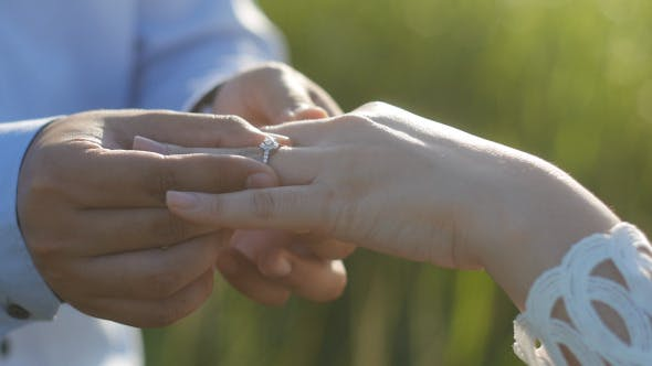 Cover Image for Putting Wedding Ring