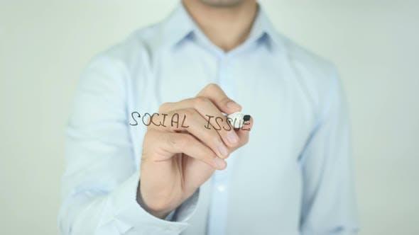 Thumbnail for Soziale Probleme, Schreiben auf dem Bildschirm