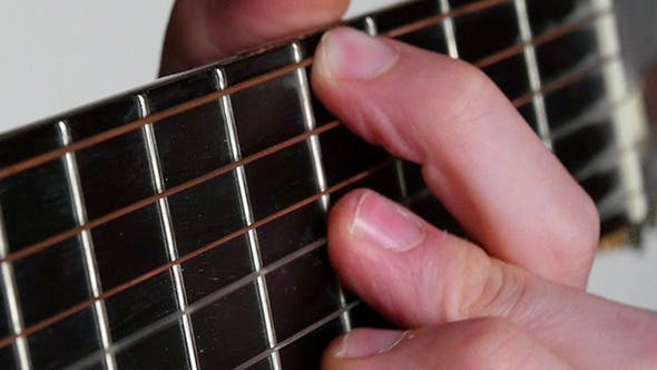 Thumbnail for Strumming Playing Acoustic Guitar