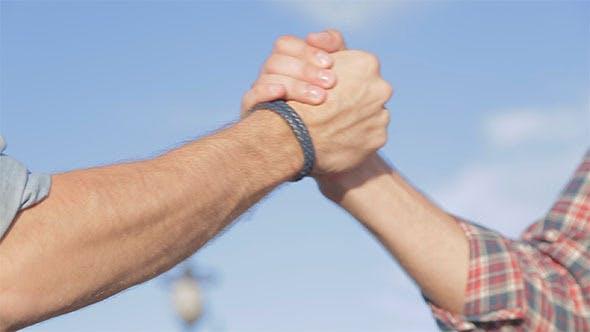 Thumbnail for Friends Handshake