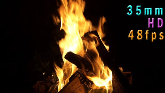 Thumbnail for Fire Pit burning 01