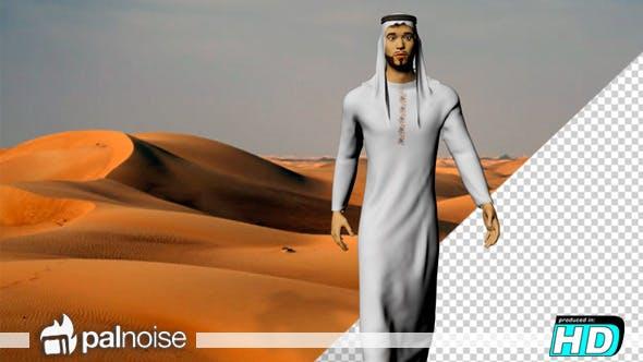 Thumbnail for Arab Man 3d Motion