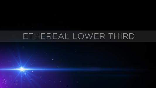 Thumbnail for Ethereal Lower Third