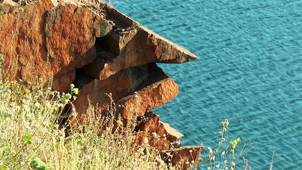 Rock Over the Lake