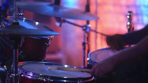 Thumbnail for Drummer On The Rock Concert
